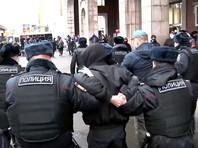 """В центре Москвы задержали около 40 участников """"Русского марша"""" (ВИДЕО)"""