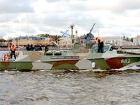 """""""Юнармеец Балтики"""" - это новейший проекта 03160 """"Раптор"""". Катер регулярно участвует в военно-морских парадах"""