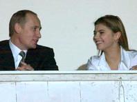 Владимир Путин и Алина Кабаева, декабрь 2001 года