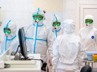 В Москве зарегистрирован 5261 новый заболевший