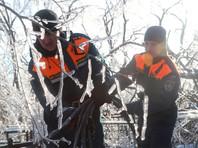 Циклон в Приморье: четвертый день более 68 тысяч человек сидят без света