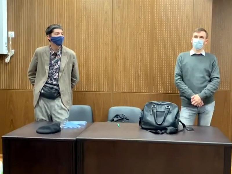 Тверской суд Москвы отправил под административный арест на 15 суток Павла Крисевича, который был задержан накануне у здания ФСБ на Лубянке за акцию в образе Иисуса Христа