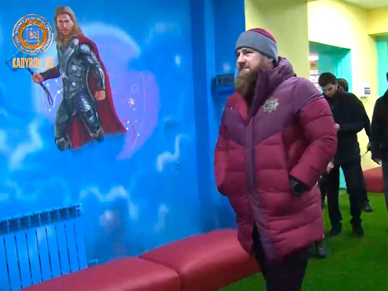 Рамзан Кадыров раскритиковал дизайн детского центра в городе Курчалой