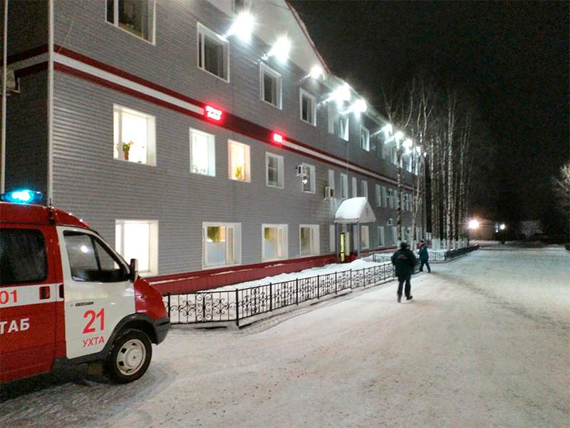 """В Коми из-за пожара эвакуируют горняков нефтешахты """"Яреганефть"""" в Ухте"""