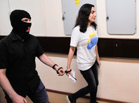 Карина Цуркан в Лефортовском суде, август 2018 года