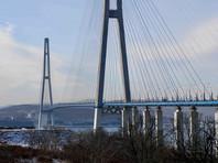 Французские специалисты займутся ремонтом моста на остров Русский, поврежденного ледяным штормом