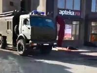 Возле здания управления ФСБ в Карачаево-Черкесии произошел взрыв. Есть погибший и раненые