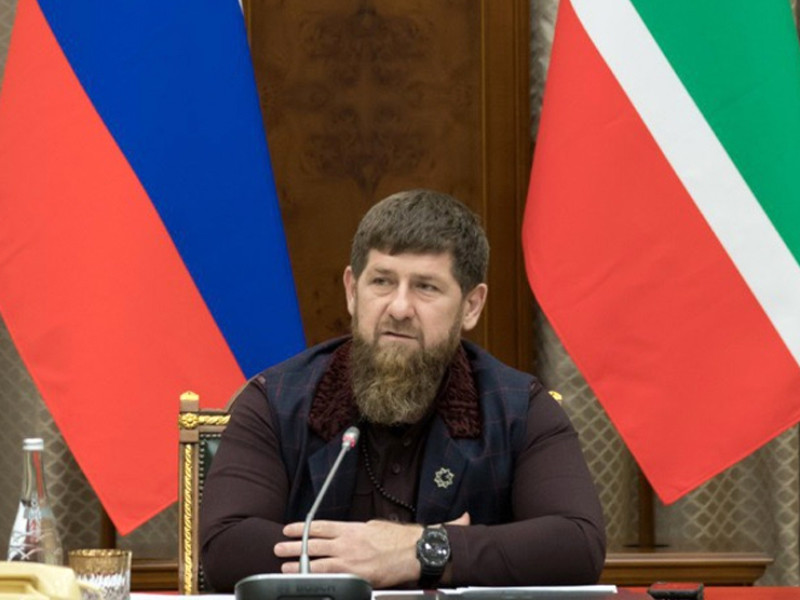 """Ramzan Kadyrov called """"a lie"""" the information that the Ingush were killed after the remark for the lack of a mask"""