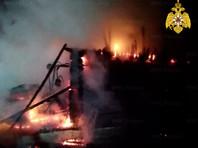 В Башкирии сгорел дом престарелых, 11 человек погибли