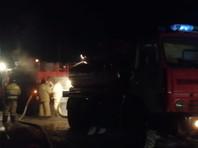 По данным властей Абзелиловского района, в сгоревшем здании находились 16 человек, пятеро из них спасены