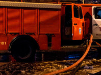 Два человека погибли при пожаре в здании столичного онкоцентра