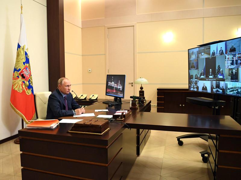 Путин снова поручил проанализировать принятые законы об НКО-иноагентах