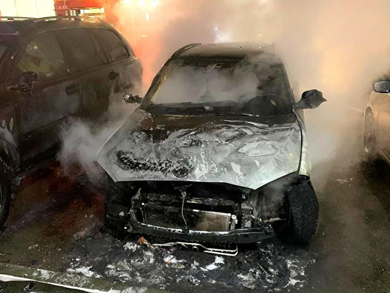 Автомобиль корреспондента Znak.com Марины Малковой сожгли поздно вечером 23 ноября. Преступление было хорошо спланировано
