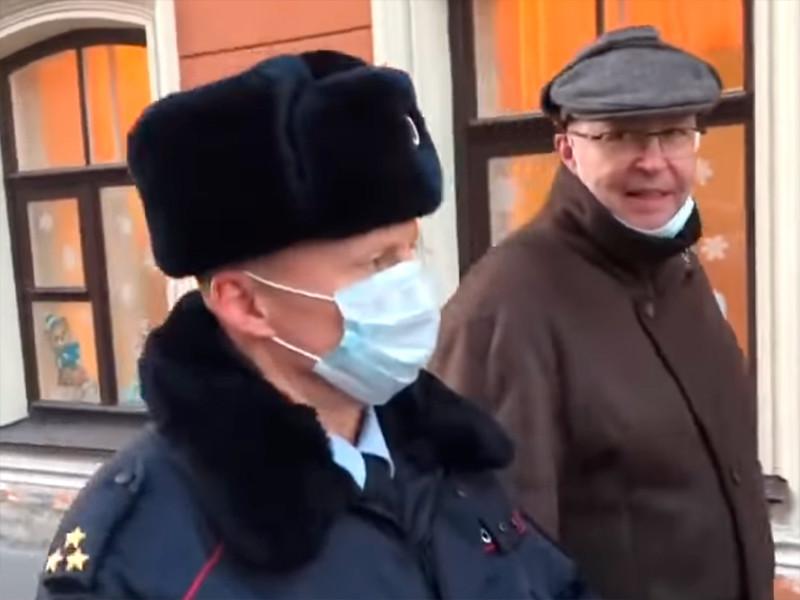 Валерий Соловей, Октябрьский районный суд Санкт-Петербурга, 8 декабря 2020 года