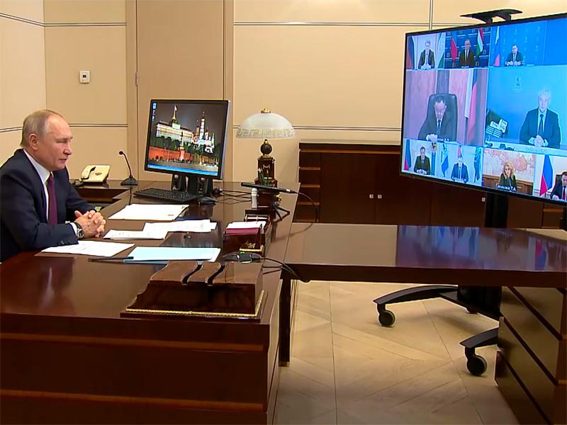 Президент РФ Владимир Путин во вторник, 5 января, провел в онлайн режиме видеосовещание по социальным вопросам, одним из докладчиков на котором выступил мэр столицы Сергей Собянин