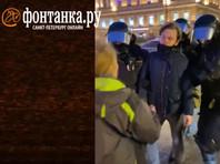 54-летняя Маргарита Юдина получила сильный удар в живот после вопроса о причине грубого задержания молодого человека на площади Восстания