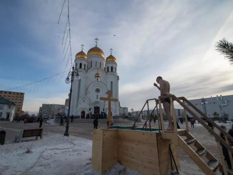 Красноярская епархия Русской православной церкви решила отменить традиционные купания в праздник Крещения, который отмечается в ночь на 19 января