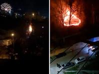 Несколько пожаров из-за фейерверков произошло в Сочи