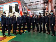 3 января первые в современной истории женщины-машинисты электропоезда приступили к работе в московском метро