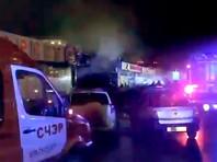 Пожар локализован, его площадь составила 150 кв. м. Из здания эвакуированы порядка 100 человек