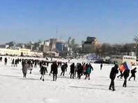 На Дальнем Востоке и в Сибири прошли акции в поддержку Навального. Во Владивостоке силовики вышли за протестующими на лед (ВИДЕО)