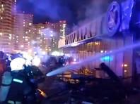 Один человек погиб, еще два пострадали на пожаре в супермаркете Краснодара, расположенном напротив дома по ул. Владислава Посадского