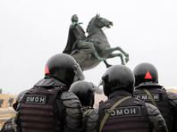 Петербург готовится к массовой акции протеста 31 января: на центральных улицах и площадях установлены заграждения (ФОТО)