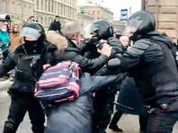 В Петербурге полиция применила газ и электрошокеры против протестующих, есть пострадавшие (ВИДЕО)