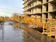 На стройке нового ЖК в Краснодаре рухнул кран: погибли крановщица и директор компании-подрядчика (ВИДЕО)