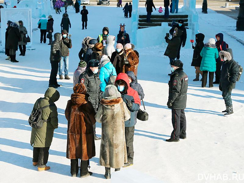 Хабаровск, 2 января 2021 года