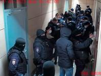 Полиция в офисе ФБК