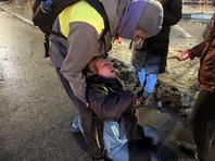23 января в Санкт-Петербурге полицейский ударил Юдину ногой в живот, в результате чего женщина получила черепно-мозговую травму