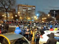Москва, Цветной бульвар, 23 января 2021 года