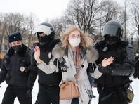 """По данным """"ОВД-Инфо"""", в Санкт-Петербурге в связи с акцией в поддержку Навального в общей сложности задержали более 550 человек. Число задержанных по стране превышает 3,7 тысячи человек, это рекорд по задержаниям"""