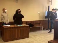 Юлия Навальная в Щербинском районном суде города Москвы, 1 февраля 2021 года