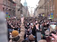 """Лишенного возможности говорить инвалида в Петербурге оштрафовали за """"скандирование лозунгов"""" на протестах 31 января"""