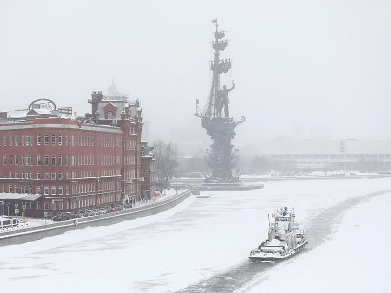 В Москве за 30 часов с начала снегопада выпало 75% месячной нормы осадков