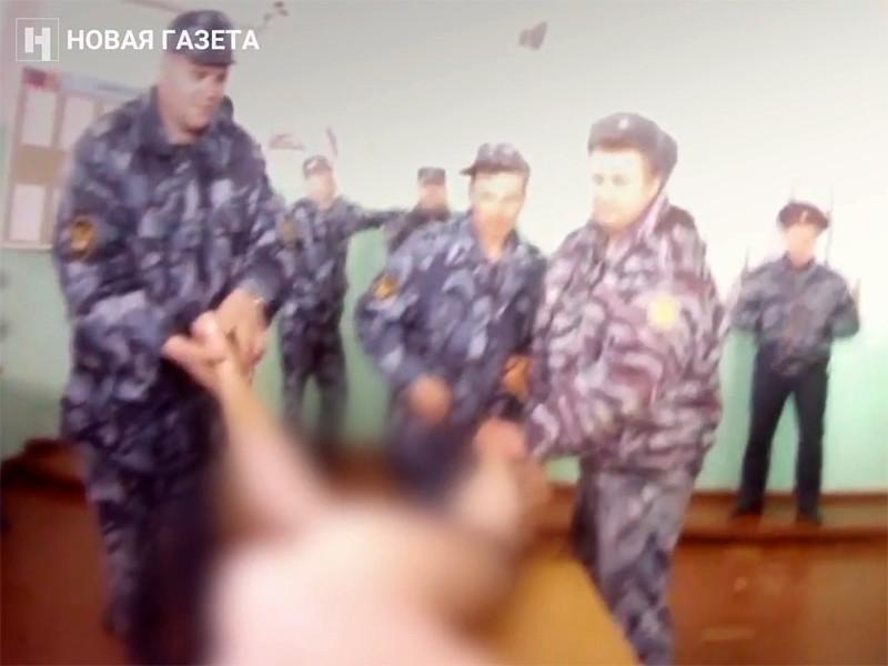 """""""Новая газета"""" 23 февраля опубликовала видеозаписи пыток в ярославской ИК-1, после которых заключенный Важа Бочоришвили, гражданин Грузии, умер в больнице"""