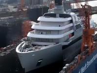Forbes: Абрамовичу строят новую яхту на зависть ближневосточным королям (ВИДЕО)