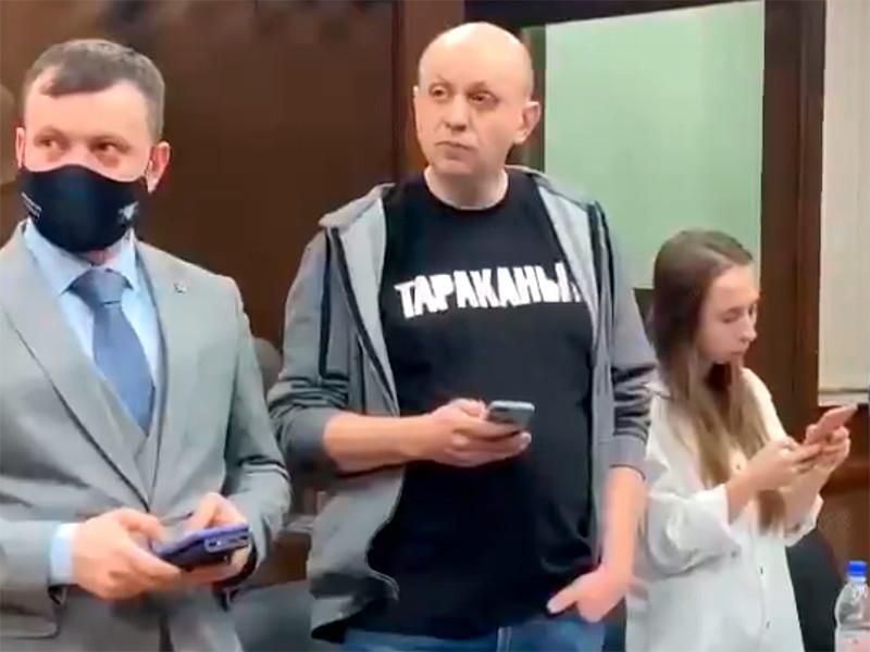 Сергей Смирнов в Тверском районном суде г. Москвы