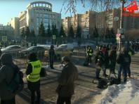 Около 350 человек задержали у Мосгорсуда во время процесса над Навальным
