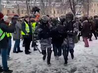 """Проект """"ОВД-Инфо"""" назвал 31 января, второй день всероссийских акций в поддержку Алексей Навального, днем самых массовых задержаний в новейшей истории России"""