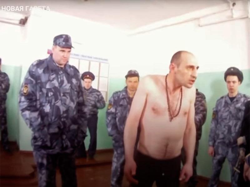 """""""Новая газета"""" опубликовала новые видео пыток в ярославской колонии N1, после которых умер один из заключенных"""