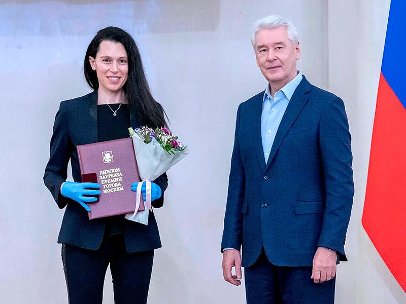 Сергей Собянин вручил премии Москвы в области спорта и туризма