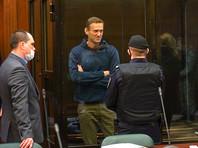 Алексей Навальный на заседании Московского городского суда, 2 февраля 2021 года