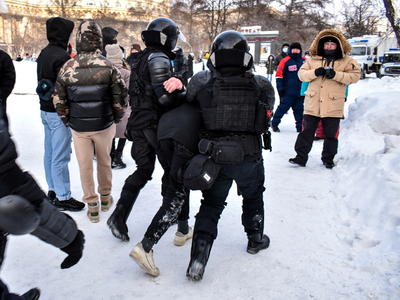 Новосибирск, 23 января 2021 года