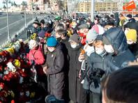 Обстановка на Большом Москворецком мосту в Москве, 27 февраля 2021 года