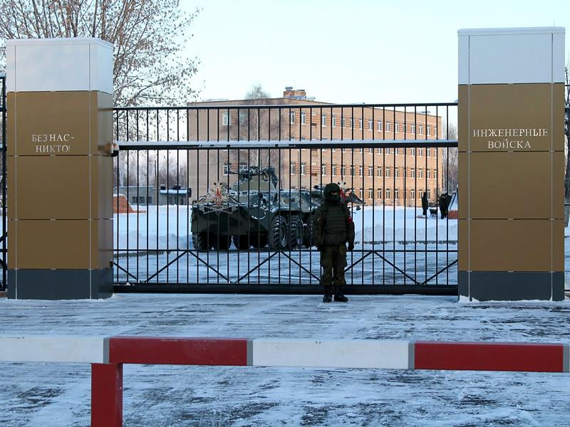 Во Владимирской области погиб солдат-срочник, на которого упали ворота войсковой части