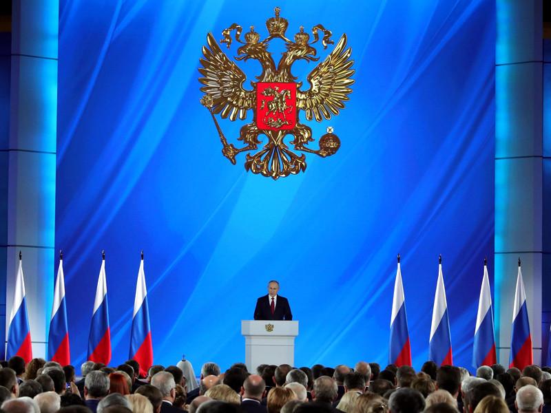 В прошлом году Путин огласил послание Федеральному собранию в самом начале года, 15 января