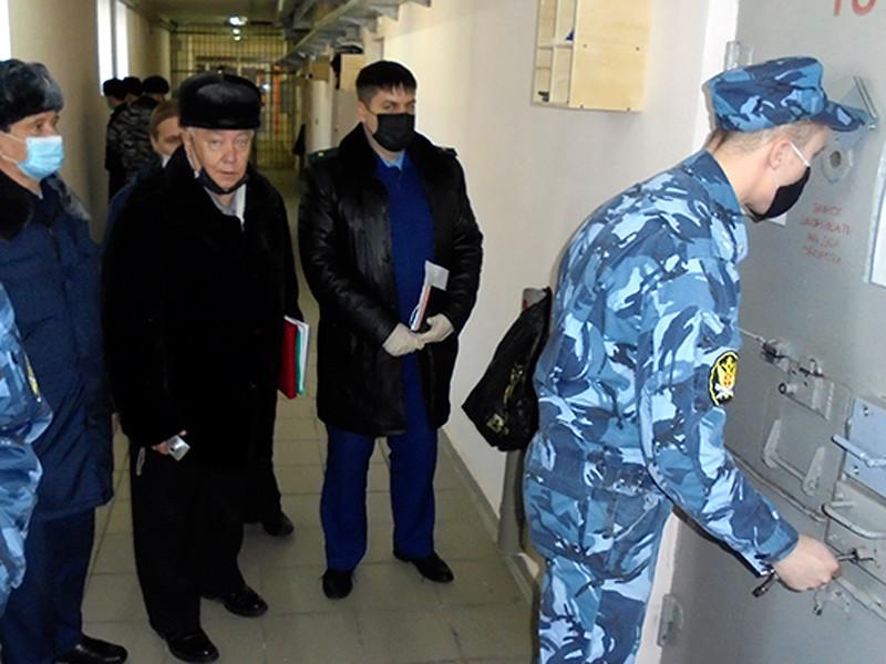 Представители ОНК и прокуратуры посетили исправительную колонию №6 УФСИН России по Хабаровскому краю, февраль 2021 года
